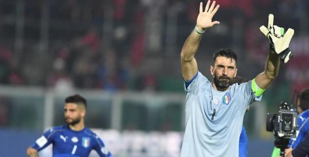 1000 Penampilan Buffon Warnai Laga Italia Lawan Albania