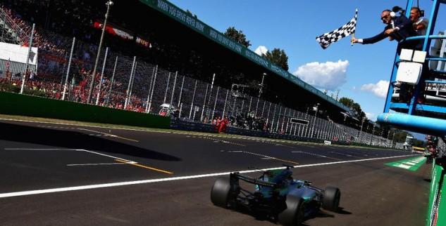 Di GP Monza Hamilton Asapi Bottas Dan Vettel