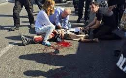 tentara mengalami luka kritis setelah ditikam Orang Tak Di Kenal