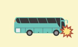Nahas, Waktu Perjalanan Pulang Rombongan Bus SMA Negri 2 Magelang Tabrakan Dengan Truk Bermuatan Minyak Di Tol Ngawi