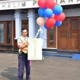 Penurunan Balon Yang Melintas Di Area Lanud Halim Karena Di Anggap Berbahaya