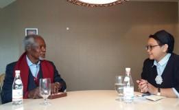 Menteri Luar Negeri Retno LP Marsudi Berduka Cita Atas Wafatnya Kofi Annan