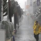 Okinawa Diterjang Topan Trami, Sekitar 600 Orang Dievakuasi ke Penampungan