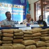 BNN Jabar Sita Ganja Seberat 181 Kg untuk Tahun Baru di Bandung