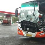 Kecelakaan Bus Kramat Djati vs Truk Fuso Terjadi di Banyuwangi